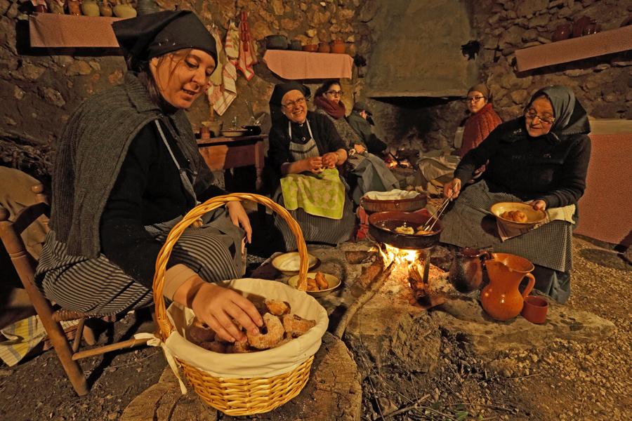 Pessebre vivent de Castelló (Vandellòs), el Pessebre dels Estels. Vandellòs - Hospitalet de l'Infant, Baix Camp, Tarragona